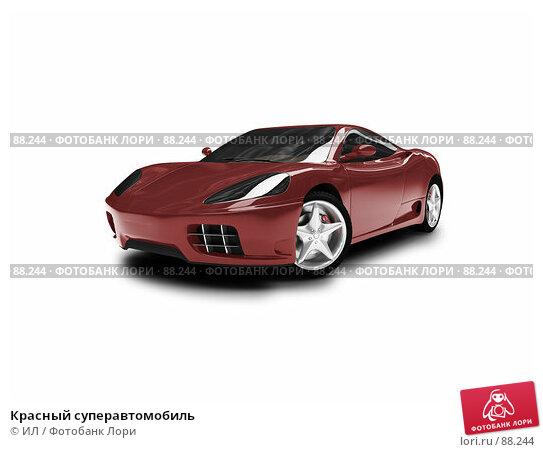 Красный суперавтомобиль, иллюстрация № 88244 (c) ИЛ / Фотобанк Лори