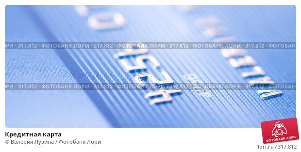 Купить «Кредитная карта», фото № 317812, снято 6 июня 2008 г. (c) Валерия Потапова / Фотобанк Лори
