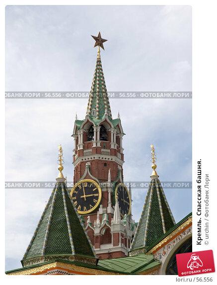 Кремль. Спасская башня., фото № 56556, снято 2 июня 2007 г. (c) urchin / Фотобанк Лори