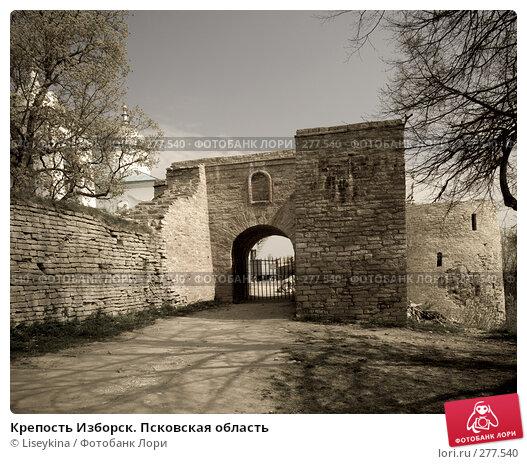 Крепость Изборск. Псковская область, фото № 277540, снято 2 мая 2008 г. (c) Liseykina / Фотобанк Лори