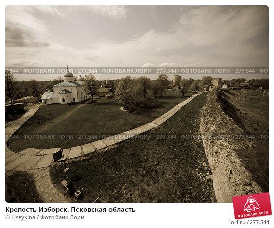 Крепость Изборск. Псковская область, фото № 277544, снято 2 мая 2008 г. (c) Liseykina / Фотобанк Лори