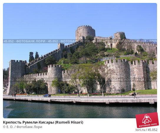 Крепость Румели-Хисары (Rumeli Hisari), фото № 45052, снято 14 апреля 2007 г. (c) Екатерина Овсянникова / Фотобанк Лори