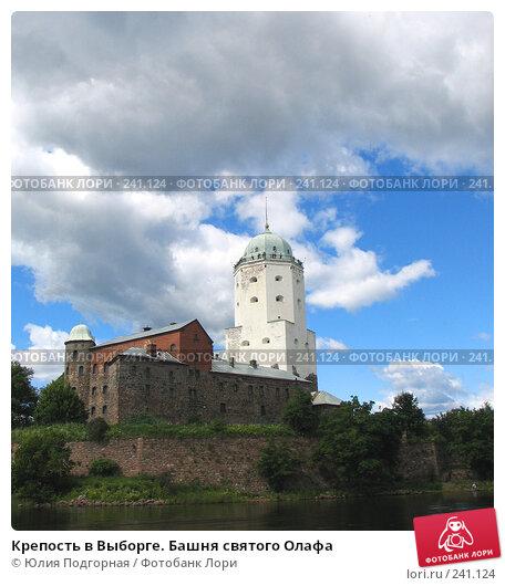 Крепость в Выборге. Башня святого Олафа, фото № 241124, снято 21 июля 2007 г. (c) Юлия Селезнева / Фотобанк Лори