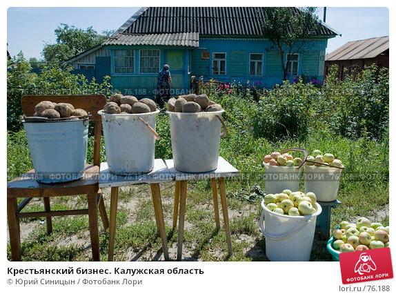 Крестьянский бизнес. Калужская область, фото № 76188, снято 11 августа 2007 г. (c) Юрий Синицын / Фотобанк Лори