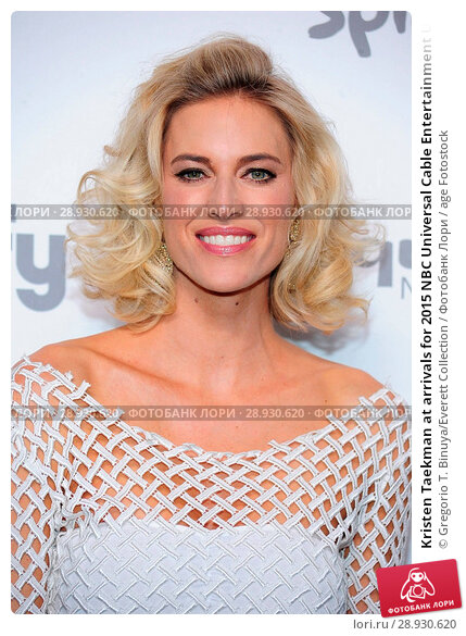 Купить «Kristen Taekman at arrivals for 2015 NBC Universal Cable Entertainment Upfront _ Part 2, Jacob K. Javits Convention Center, New York, NY May 14, 2015. Photo By: Gregorio T. Binuya/Everett Collection», фото № 28930620, снято 14 мая 2015 г. (c) age Fotostock / Фотобанк Лори