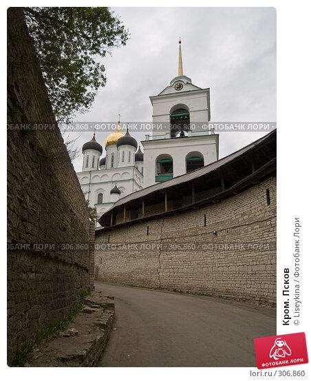 Кром. Псков, фото № 306860, снято 2 мая 2008 г. (c) Liseykina / Фотобанк Лори