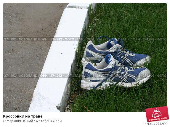 Кроссовки на траве, фото № 274992, снято 23 апреля 2008 г. (c) Марюнин Юрий / Фотобанк Лори