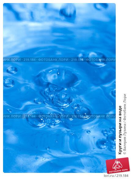 Круги и пузыри на воде, фото № 219184, снято 18 февраля 2008 г. (c) Валерия Потапова / Фотобанк Лори