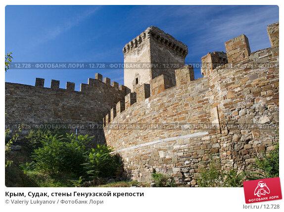 Крым, Судак, стены Генуэзской крепости, фото № 12728, снято 11 сентября 2006 г. (c) Valeriy Lukyanov / Фотобанк Лори