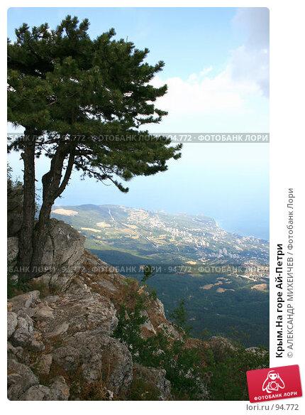 Крым.На горе Ай-Петри, фото № 94772, снято 14 августа 2007 г. (c) АЛЕКСАНДР МИХЕИЧЕВ / Фотобанк Лори