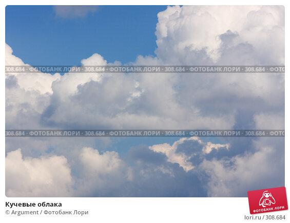 Кучевые облака, фото № 308684, снято 30 апреля 2008 г. (c) Argument / Фотобанк Лори