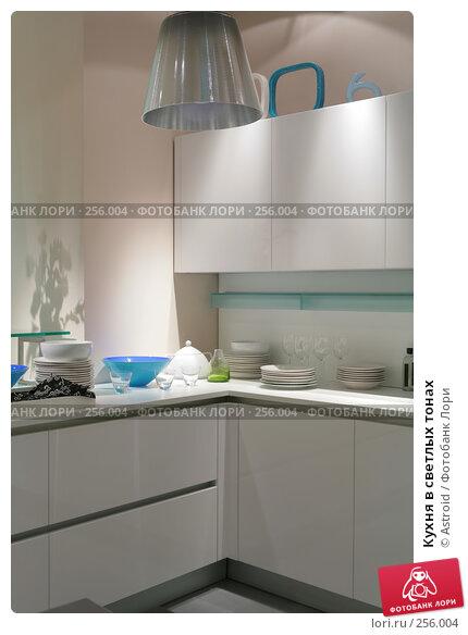 Кухня в светлых тонах, фото № 256004, снято 8 апреля 2008 г. (c) Astroid / Фотобанк Лори