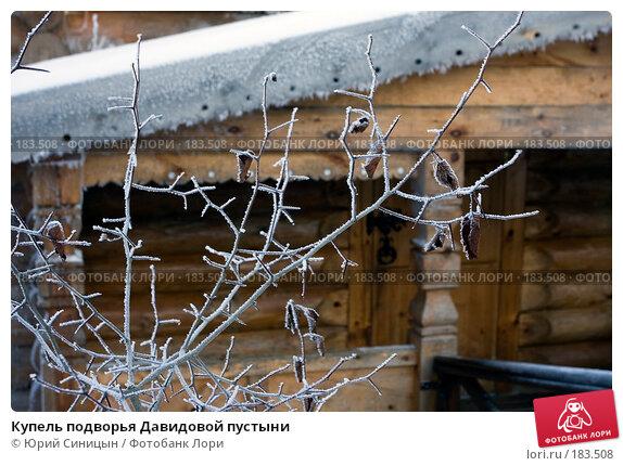 Купель подворья Давидовой пустыни, фото № 183508, снято 8 января 2008 г. (c) Юрий Синицын / Фотобанк Лори
