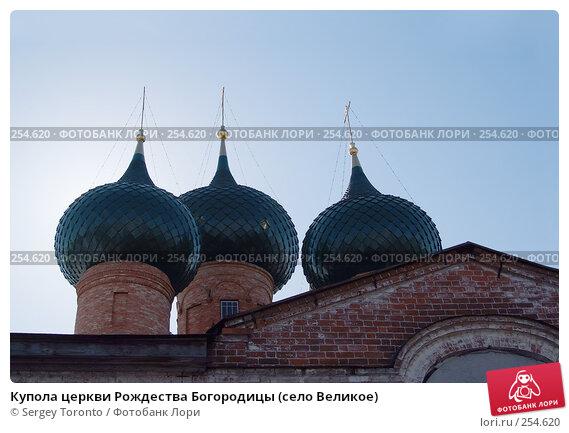 Купола церкви Рождества Богородицы (село Великое), фото № 254620, снято 29 марта 2008 г. (c) Sergey Toronto / Фотобанк Лори