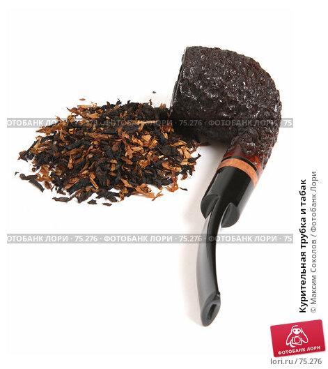 Курительная трубка и табак, фото № 75276, снято 4 июня 2007 г. (c) Максим Соколов / Фотобанк Лори