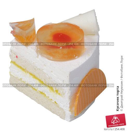 Кусочек торта, эксклюзивное фото № 254408, снято 8 июня 2006 г. (c) Дмитрий Неумоин / Фотобанк Лори