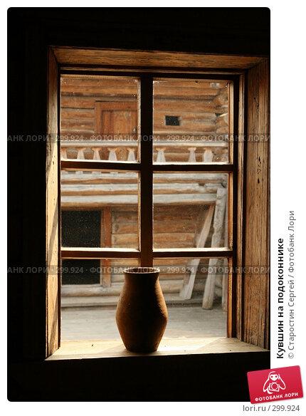 Кувшин на подоконнике, фото № 299924, снято 23 апреля 2008 г. (c) Старостин Сергей / Фотобанк Лори