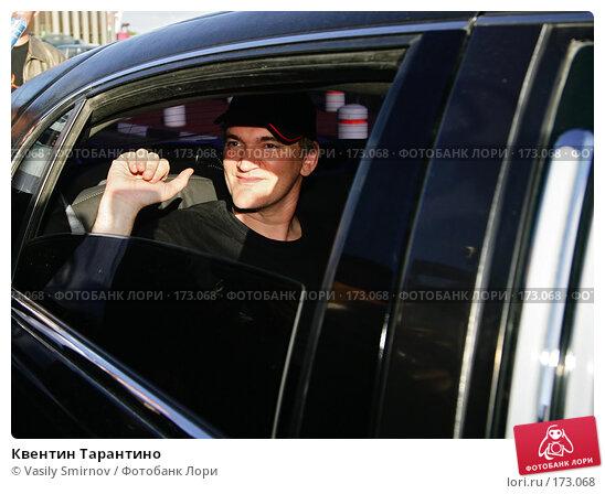 Квентин Тарантино, фото № 173068, снято 16 июня 2004 г. (c) Vasily Smirnov / Фотобанк Лори