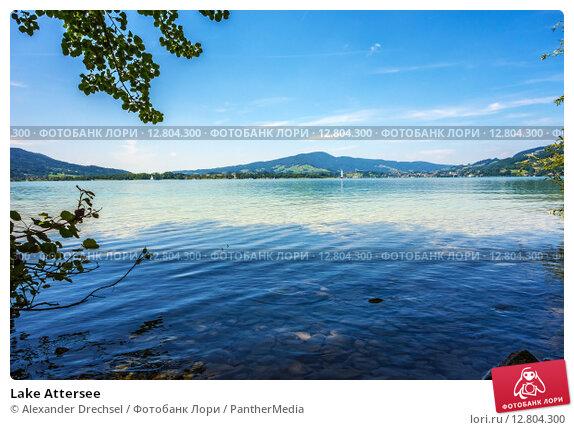 Купить «Lake Attersee», фото № 12804300, снято 20 сентября 2019 г. (c) PantherMedia / Фотобанк Лори