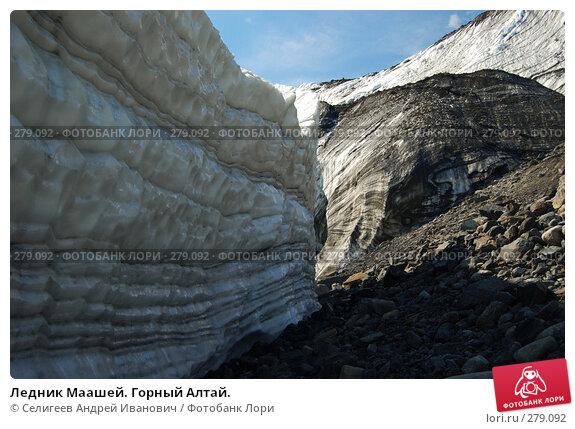 Ледник Маашей. Горный Алтай., фото № 279092, снято 13 июля 2006 г. (c) Селигеев Андрей Иванович / Фотобанк Лори