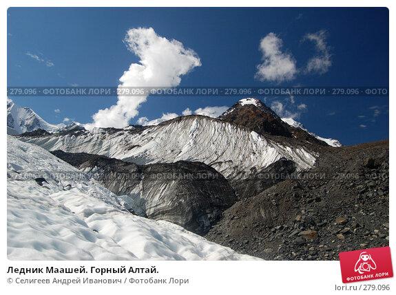 Ледник Маашей. Горный Алтай., фото № 279096, снято 13 июля 2006 г. (c) Селигеев Андрей Иванович / Фотобанк Лори