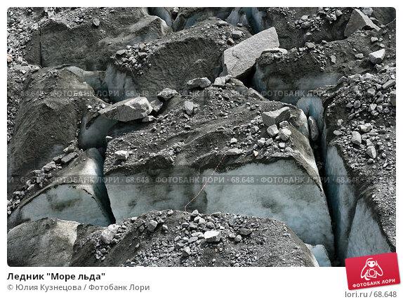 """Купить «Ледник """"Море льда""""», фото № 68648, снято 6 июня 2007 г. (c) Юлия Кузнецова / Фотобанк Лори"""