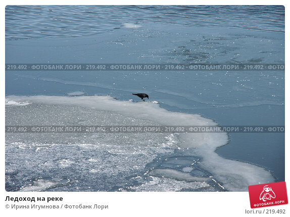 Ледоход на реке, фото № 219492, снято 9 марта 2008 г. (c) Ирина Игумнова / Фотобанк Лори