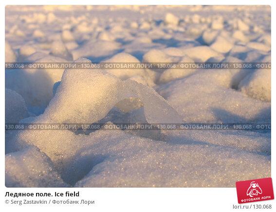 Ледяное поле. Ice field, фото № 130068, снято 29 ноября 2004 г. (c) Serg Zastavkin / Фотобанк Лори