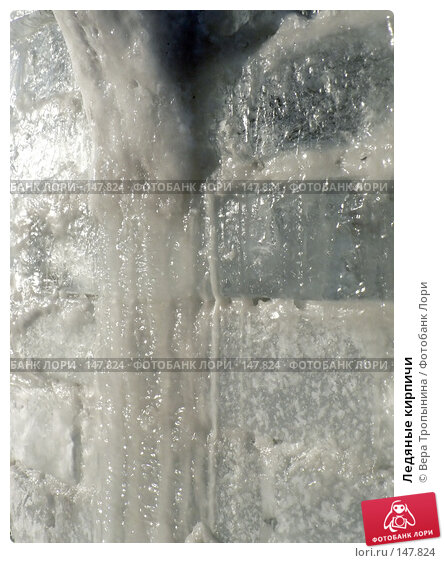 Ледяные кирпичи, фото № 147824, снято 28 марта 2017 г. (c) Вера Тропынина / Фотобанк Лори