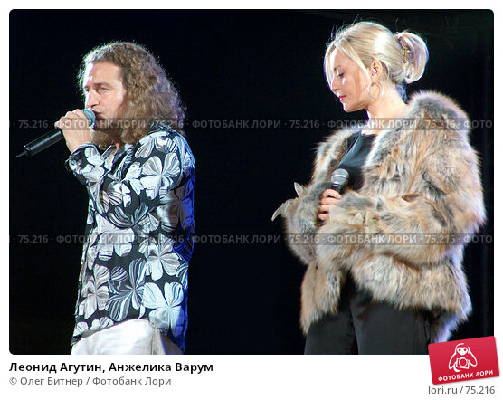 Леонид Агутин, Анжелика Варум, фото № 75216, снято 15 сентября 2004 г. (c) Олег Битнер / Фотобанк Лори