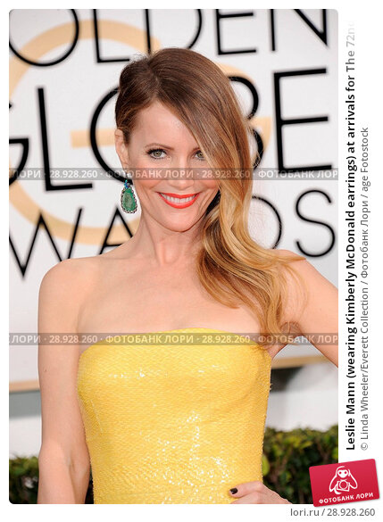 Купить «Leslie Mann (wearing Kimberly McDonald earrings) at arrivals for The 72nd Annual Golden Globe Awards 2015 _ Part 2, The Beverly Hilton Hotel, Beverly Hills...», фото № 28928260, снято 22 августа 2018 г. (c) age Fotostock / Фотобанк Лори