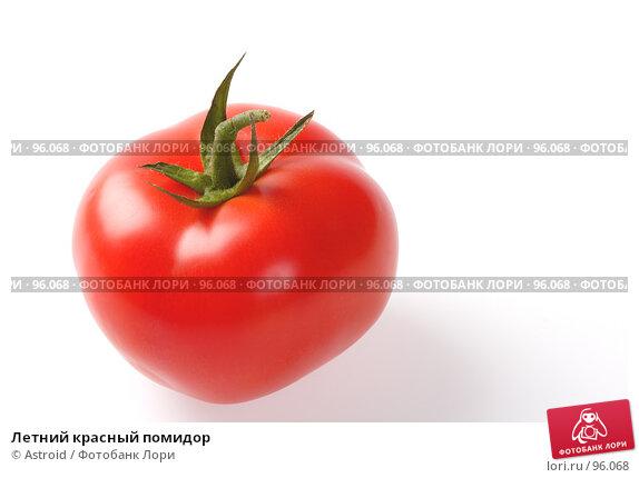 Летний красный помидор, фото № 96068, снято 11 ноября 2006 г. (c) Astroid / Фотобанк Лори