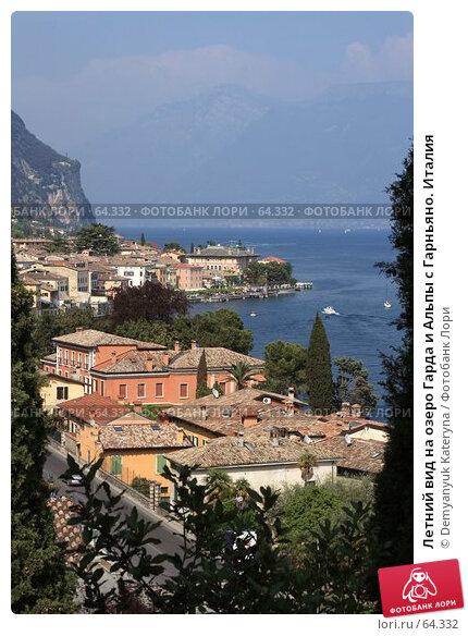 Купить «Летний вид на озеро Гарда и Альпы с Гарньяно. Италия», фото № 64332, снято 29 апреля 2007 г. (c) Demyanyuk Kateryna / Фотобанк Лори
