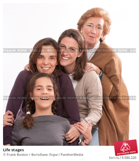 фото разных возрастов
