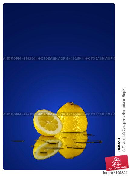 Лимон, фото № 196804, снято 24 июля 2017 г. (c) Григорий Сухарев / Фотобанк Лори