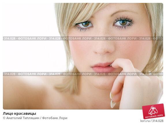 Купить «Лицо красавицы», фото № 314028, снято 1 июня 2008 г. (c) Анатолий Типляшин / Фотобанк Лори