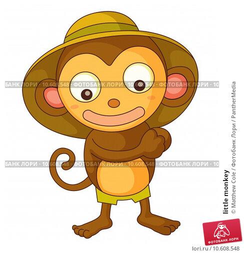 little monkey. Стоковая иллюстрация, иллюстратор Matthew Cole / PantherMedia / Фотобанк Лори