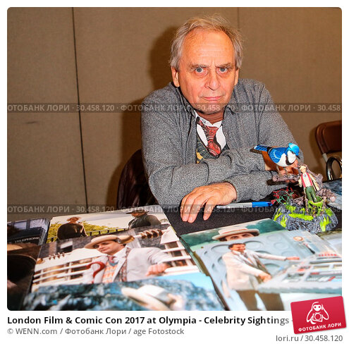 London Film & Comic Con 2017 at Olympia - Celebrity Sightings - Day 1. Редакционное фото, фотограф WENN.com / age Fotostock / Фотобанк Лори