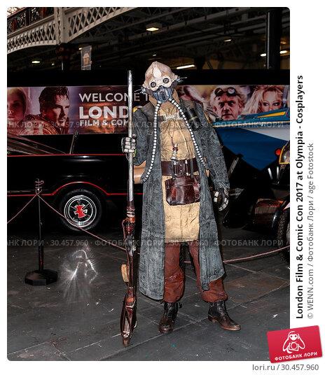 London Film & Comic Con 2017 at Olympia - Cosplayers. Редакционное фото, фотограф WENN.com / age Fotostock / Фотобанк Лори