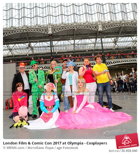 London Film & Comic Con 2017 at Olympia - Cosplayers. Редакционное фото, фотограф WENN.com / age Fotostock / Фотобанк Лори