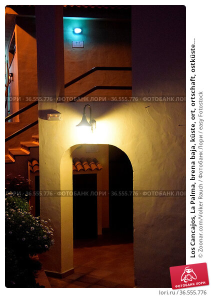Los Cancajos, La Palma, brena baja, küste, ort, ortschaft, ostküste... Стоковое фото, фотограф Zoonar.com/Volker Rauch / easy Fotostock / Фотобанк Лори