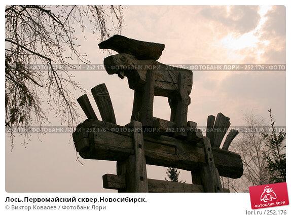 Лось.Первомайский сквер.Новосибирск., фото № 252176, снято 13 апреля 2008 г. (c) Виктор Ковалев / Фотобанк Лори