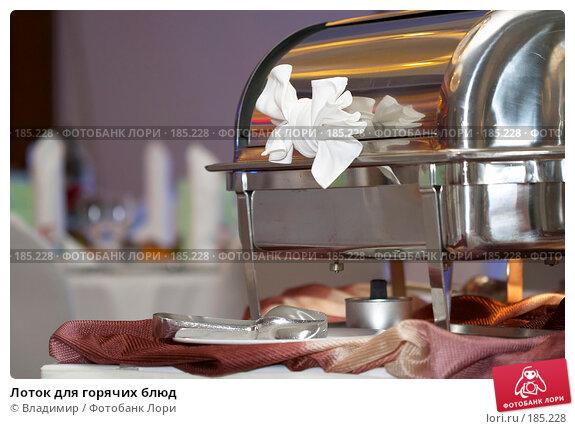 Лоток для горячих блюд, фото № 185228, снято 29 декабря 2007 г. (c) Владимир / Фотобанк Лори