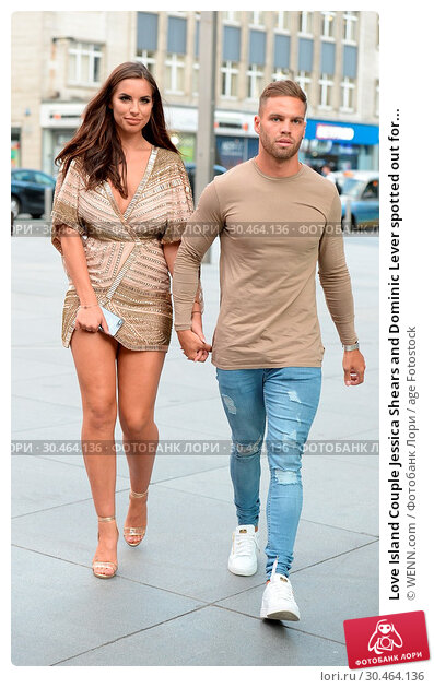 Love Island Couple Jessica Shears and Dominic Lever spotted out for... (2017 год). Редакционное фото, фотограф WENN.com / age Fotostock / Фотобанк Лори