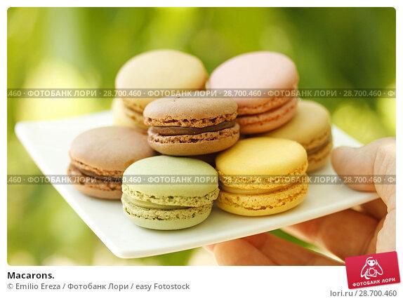 Купить «Macarons.», фото № 28700460, снято 9 июня 2018 г. (c) easy Fotostock / Фотобанк Лори