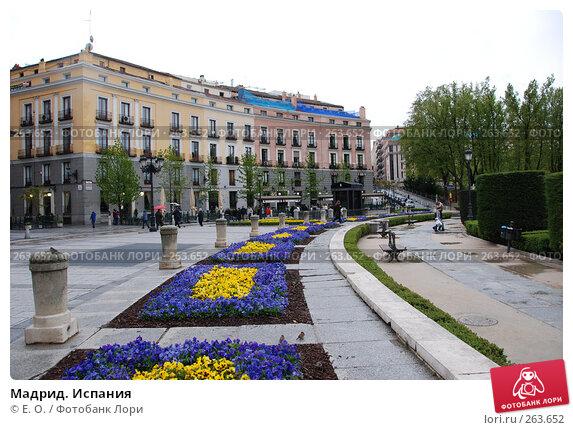 Купить «Мадрид. Испания», фото № 263652, снято 19 апреля 2008 г. (c) Екатерина Овсянникова / Фотобанк Лори