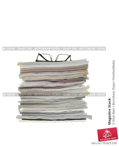 Magazine Stack. Стоковое фото, фотограф Kitch Bain / PantherMedia / Фотобанк Лори