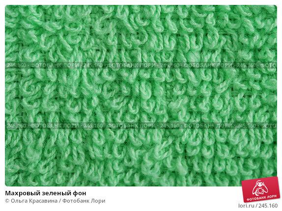 Махровый зеленый фон, фото № 245160, снято 2 декабря 2007 г. (c) Ольга Красавина / Фотобанк Лори