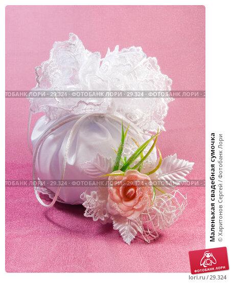 Маленькая свадебная сумочка, фото № 29324, снято 27 марта 2007 г. (c) Харитонов Сергей / Фотобанк Лори