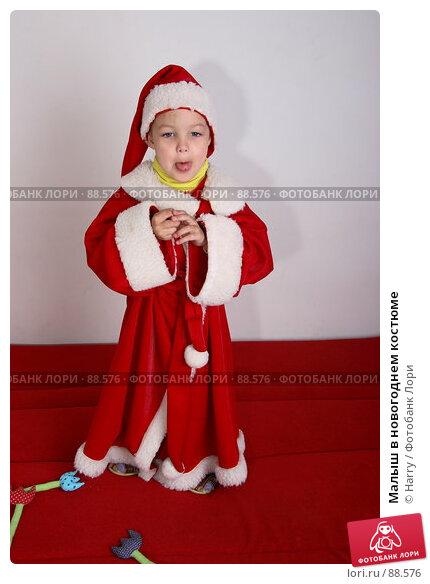 Малыш в новогоднем костюме, фото № 88576, снято 4 июня 2007 г. (c) Harry / Фотобанк Лори